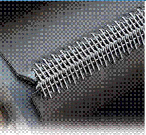 Industrial clipper lacer, manual roller lacing tool for 9mm.